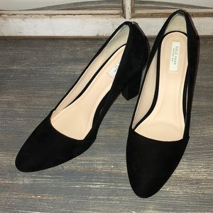 Cole Haan Grand Os Black Suede Heel